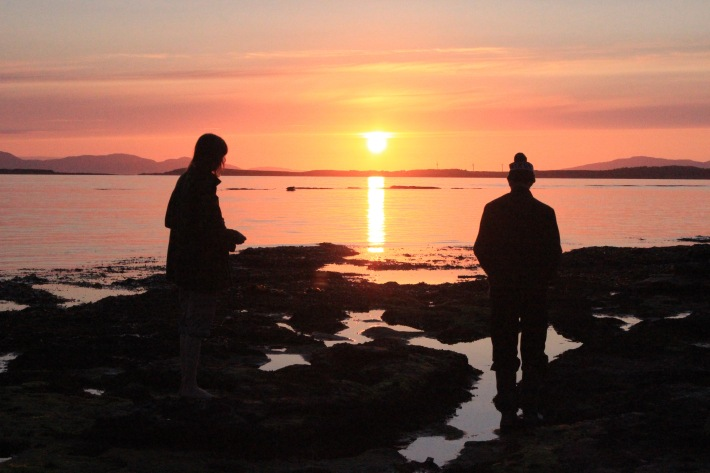 gigha sunset